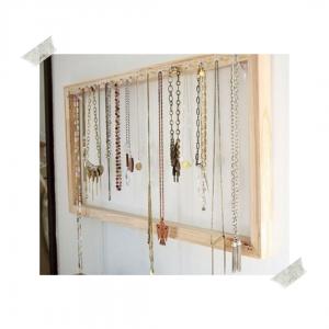 rangement bijoux cadre